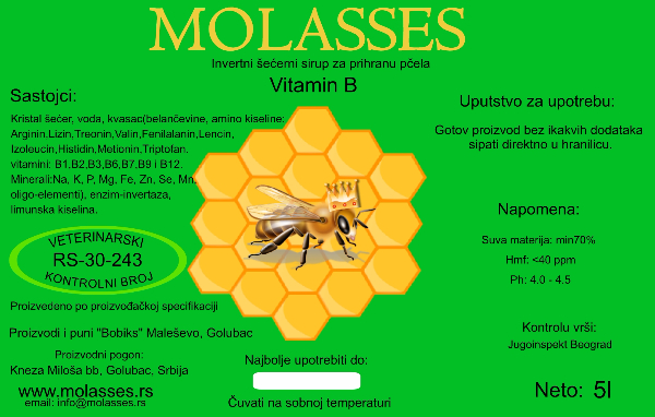 Molasses VITAMIN B