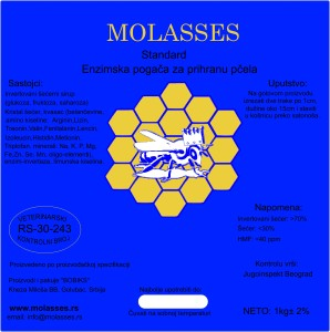 Molasses STANDARD enzimska pogača